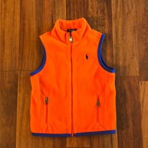 Fall Fleece Vest